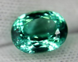 NR ~ 11.50 cts Flawless Lush Green Spodumene Loose Gemstone