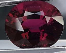 3.78cts, Rubelite Tourmaline,   VVS1 Eye Clean