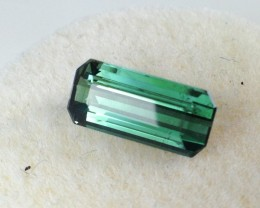 1.55 ct Tourmaline - Octagon Cut Indicolite - Price Drop!!!