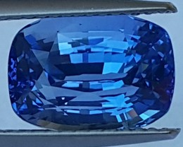 5.61cts GIA Certified, Ceylon Cornflower Blue Sapphire, Certified,  VVS