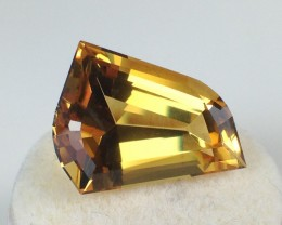 11.56 ct Heliodor - Old Stock Fancy Cut