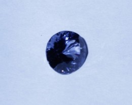 Nice clean sapphire blue spinel.