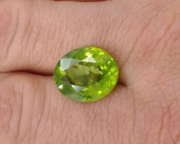 9.700 ct Natural Bright Peridot