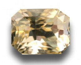 1.37 Carats| Natural Unheated yellow sapphire |Loose Gemstone|New | Sri Lan