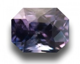 1.07 Carats| Natural violet sapphire |Loose Gemstone|New | Sri Lanka