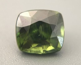 2.61 Carats|Natural Green zircon|Loose Gemstone|New| Sri Lanka