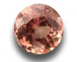 0.82 CTS | Natural Pinkish orange padparadscha |New Certified| Sri Lanka