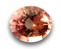 0.75 CTS | Natural Pinkish Orange padparadscha |Loose Gemstone|New| Sri Lan