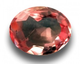 0.5 CTS | Natural Pinkish Orange padparadscha |Loose Gemstone|New| Sri Lank