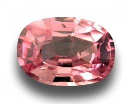 0.68 CTS | Natural Orange Pink padparadscha |Loose Gemstone|New| Sri Lanka