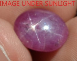 4.75 Ct Star Ruby CERTIFIED Beautiful Natural Unheated & Untreated