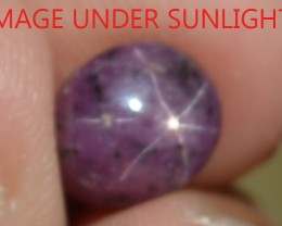 4.39 Ct Star Ruby CERTIFIED Beautiful Natural Unheated & Untreated