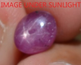 2.82 Ct Star Ruby CERTIFIED Beautiful Natural Unheated & Untreated