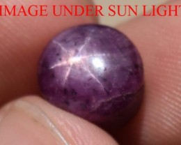 6.55 Carats Star Ruby Beautiful Natural Unheated & Untreated