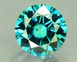 0.50 ct Natural blue Diamond Round Brilliant Cut