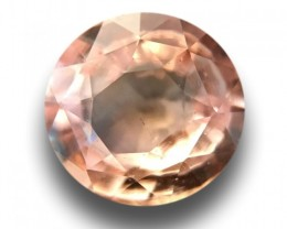 0.66 CTS   Natural Padparadscha  Certified   Loose Gemstone   Sri Lanka - N