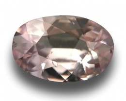 1.67 Carats | Natural Unheated Light Pink Sapphire | Loose Gemstone | Sri L