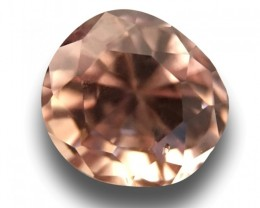 0.72 CTS Natural Pink Orange sapphire |Loose Gemstone|New Certified| Sri La