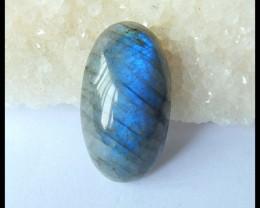 Natural Blue Labradorite Cabochon,32x18x10mm,44ct(17042608)