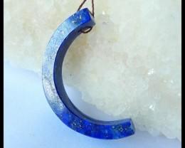 Natural Lapis Lazuli Pendant,36x6mm,20.5ct(17042613)