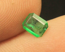Rare Swat Emerald Cut Gemstone Collector's Gem
