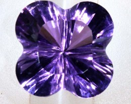6.00CTS AMETHYST FLOWER CARVING GEM GRADE LT-773
