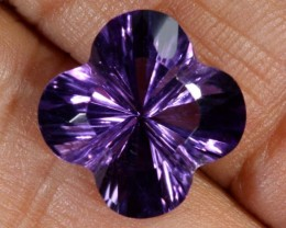 7.5CTS AMETHYST FLOWER CARVING GEM GRADE LT-776