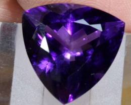 14CTS AMETHYST FACETED GEMSTONE LT-778