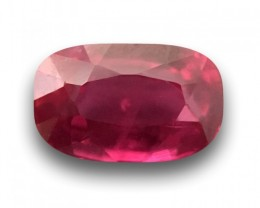 0.88 Carats | Natural Hot Pink |Certified | Loose Gemstone | Sri Lanka -