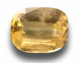 2.06 CTS | Natural Yellow Sapphire |Certified | Loose Gemstone | Sri Lanka