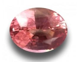 0.86 CTS | Natural Padparadscha| Loose Gemstone| Sri Lanka - New