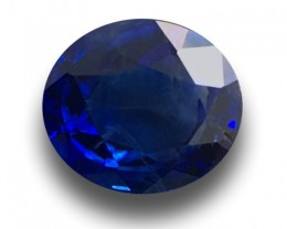 1.15 CTS Natural Blue Blue Sapphire  Loose Gemstone New Certified  Sri Lank