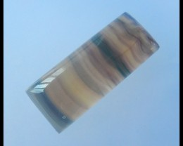 Natural Rainbow Fluorite Cabochon,44x18x9mm,86ct(17042714)