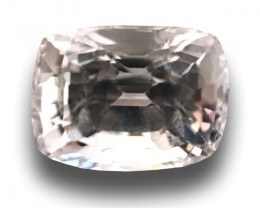 1.06 CTS|Natural Unheated White sapphire|Loose Gemstone|Certified|Ceylon-NE
