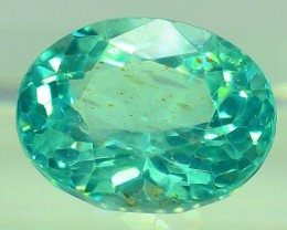 GiL Certified 1.16 ct Natural Apatite from Nigeria