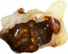 85.00 CTS FIRE AGATE ROUGH STONE [F7027]