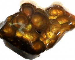 30.00 CTS FIRE AGATE ROUGH STONE [F7030]5