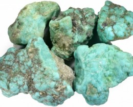 320.00 CTS TURQUOISE ROUGH FROM MEXICO-STABILIZED [F7041]