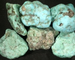 210.00 CTS TURQUOISE ROUGH FROM MEXICO-STABILIZED [F7042]