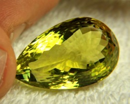34.11 Carat VVS African Lemon Quartz - Gorgeous