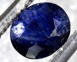 0.90CTS AUSTRALIAN DARK BLUE SAPPHIRE FACETED PG-2112