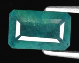 2.10 CTS-BEAUTEOUS-NEON-BLUEISH-GREEN-NATURAL-GRANDIDIERITE-OCTAGON-GEMSTON
