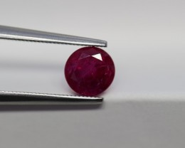 LOVELY UN-TREATED RUBY 1.73 CARATS $2,595.00