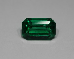 1.91 CARATS  STUNNING AGL Certified EMERALD!! (Insignificant  OIL)!