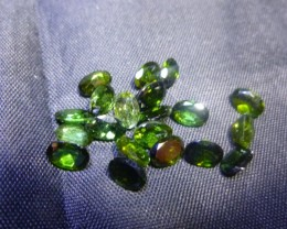 8.88ct Chrome Tourmaline Parcel, 100% Natural Gemstone