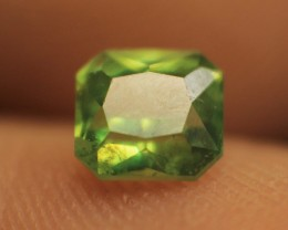 Wow Very Rare & Beautiful Color Green Garnet For Collector's
