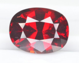 4.10 CT NATURAL RHODOLITE GARNET GEMSTONE