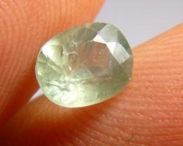 1.80ct Green Ceylon Sapphire , 100% Natural Untreated Gemstone