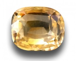 Natural Yellow Sapphire|Loose Gemstone|Certified|Ceylon - NEW