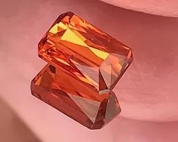 1.24ct Fanta Orange Spessartite Garnet VVS Classic Cut